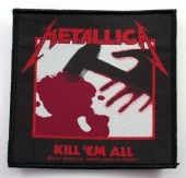 Metallica - 'Kill 'em All' Woven Patch